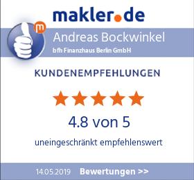 bfh Finanzhaus Berlin Bewertungen bei makler.de