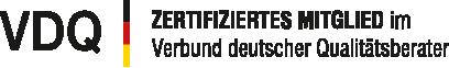 Wir sind Mitglied im Verband Deutscher Qualitätsberater VDQ